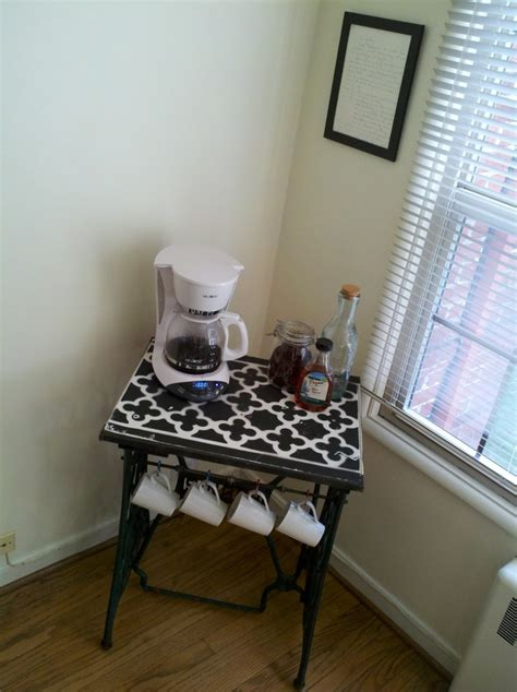 Coffee Station Table 50 Best Images About Coffee And Tea On Pinterest Bakers Rack Coffee Holder And Coffee Bar Ideas