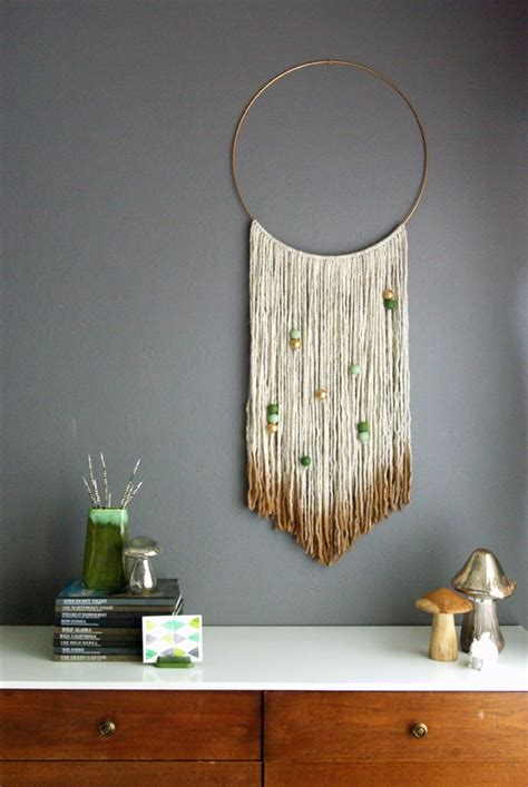 make wall decorations at home 20 easy diy yarn art wall hanging ideas child at heart blog