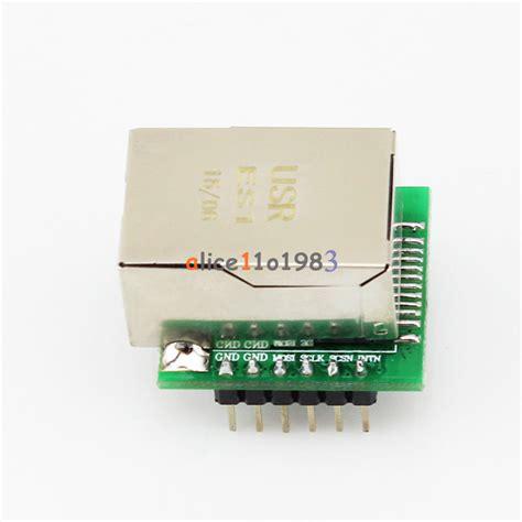 Usr Es1 W5500 Module W5500 Chip New Spi To Lan Ethernet Converter Tcp usr es1 enc28j60 w5500 chip spi to lan ethernet converter