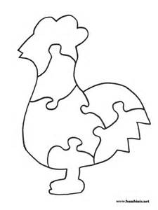 puzzle cut out template animal shapes to cut out az coloring pages