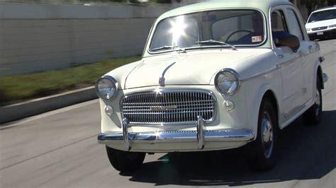 1959 fiat millecento leno s garage