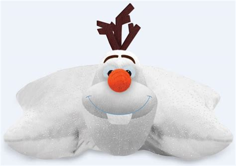 pillow pets to offer olaf folding plush the book