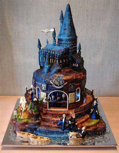 harry potter castle cake homeade gifts decorations recipes crafts diy