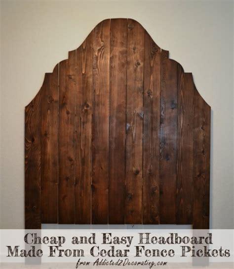 cheap wood headboards 31 fabulous diy headboard ideas for your bedroom page 4