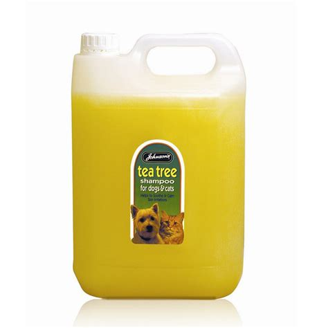 tea tree for dogs johnsons veterinary tea tree shoo 5 litre feedem