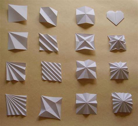 Unique Paper Folds - origami paper folds 25 unique paper folding ideas on