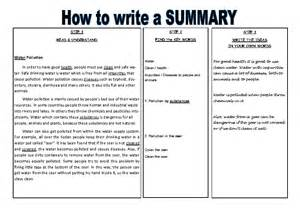 How To Write A Good Paper How Do I Write A Summary Essay