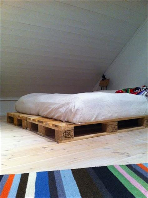 diy pallet bed plans diy wooden pallet beds