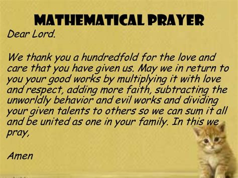 Thank You Letter Using Mathematical Terms Activity In Complex Fraction