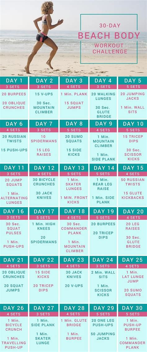 25 day fitness challenge 25 best images about challenge on