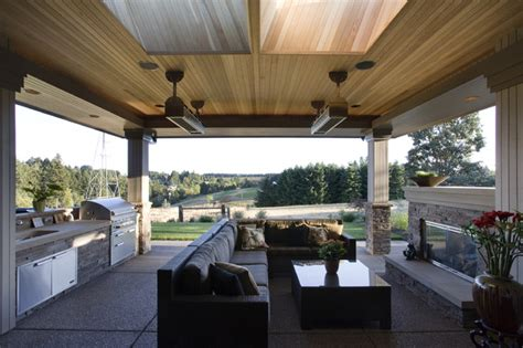 houzz outdoor rooms covered patio asian patio other metro by kaufman