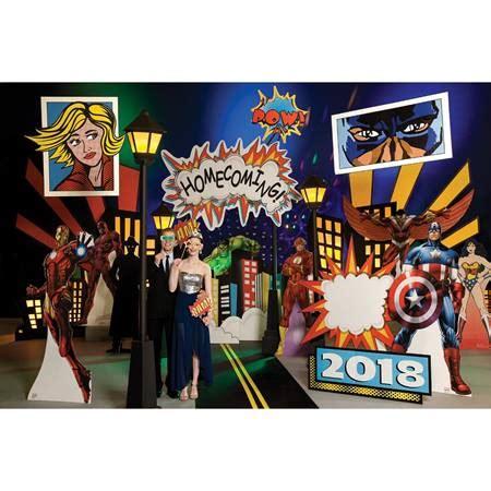 themes in superhero films superhero city homecoming theme anderson s