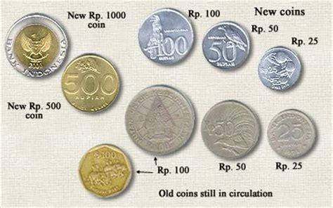 1 Set Uang Nominal Sen uang di indonesia