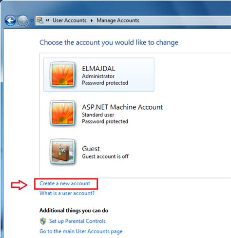 how to create a new user account in windows 10 create a new user account in windows 7 technet articles