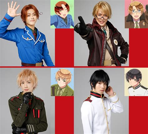 si鑒e lib駻ation nations as pretty boys hetalia s live cast