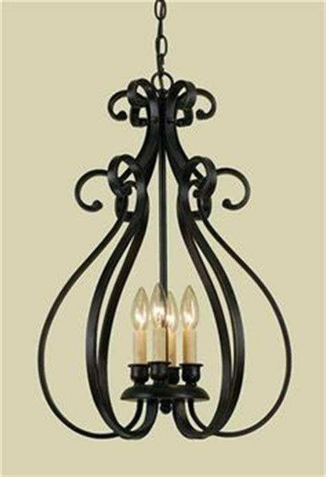 Wrought Iron Light Fixtures Kitchens Antique Lighting Fixtures Peppermill 4 Light Wrought Iron Chandelier With Antique Black Finish