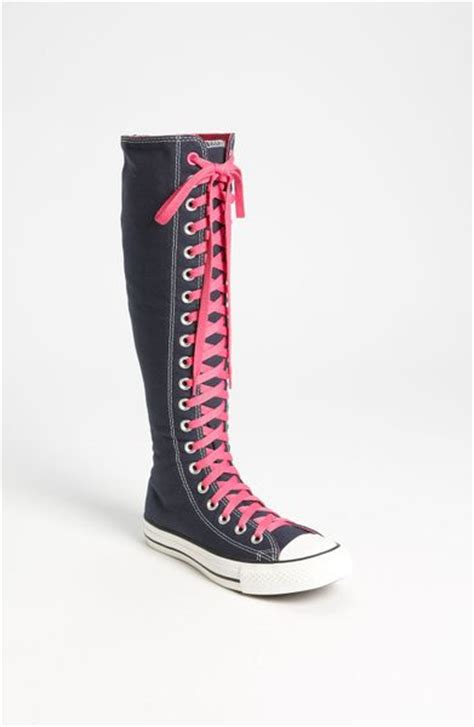 converse shoes for knee high knee high converse sneakers images