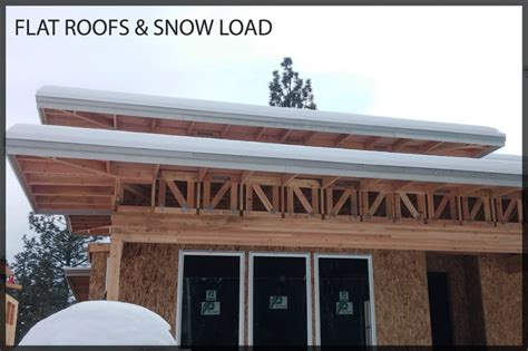 flat roofs and snow loads arbor builders usonian flat roofs and snow loads arbor builders