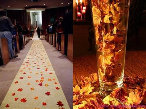 autumn leaves theme your best choice for an autumn wedding paperblog