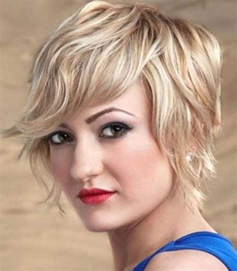 short haircuts for curly hair with rectangle shaped face 10 short wavy hairstyles for round faces short