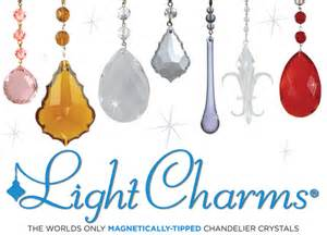 Chandelier Drops Magnetic Crystal Accessories From Mag Trim Can Transform