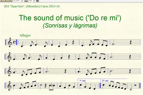imagenes musical sonrisas y lagrimas partitura the sound of music sonrisas y l 225 grimas