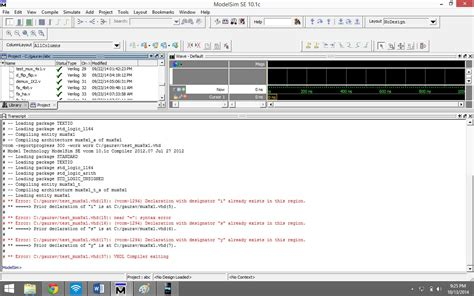 how to write test bench for vhdl code vhdl mux 8 1 error in test bench stack overflow