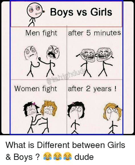 Boy Or Girl Meme - girl vs boy fight images usseek com