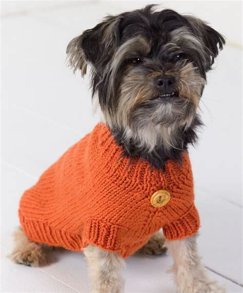 knitting pattern dog sweater large life is ruff knit dog sweater allfreeknitting com