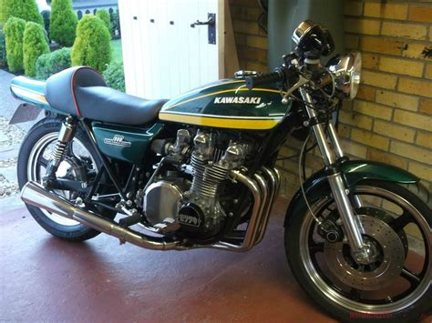 Motorcycle Green Slip by Kawasaki Z900 Classic Bike 1976 Collectable It S The