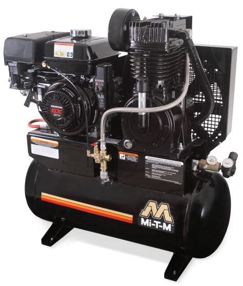 mi t m base mount air compressor without tank