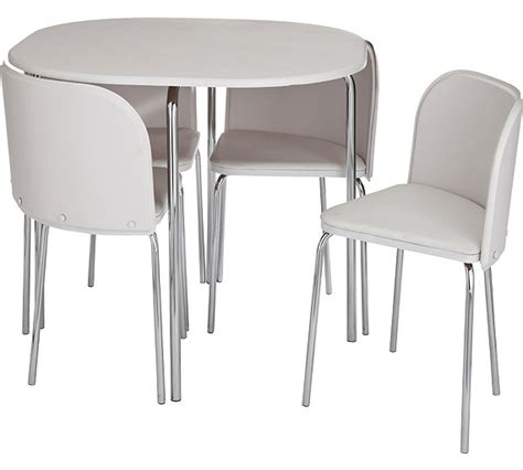white table chairs argos buy hygena aro dining table and 4 chairs white at