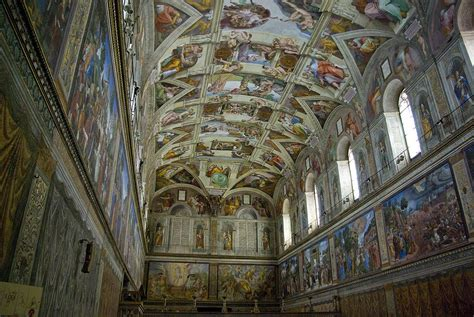 Michelangelo Sistine Ceiling by Michelangelo S Painting Of The Sistine Chapel Ceiling