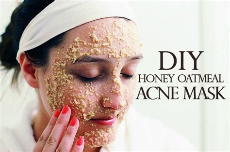 mask for acne diy diy honey oatmeal acne mask a hue