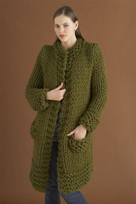 knitting jacket weekender jacket in brand wool ease thick