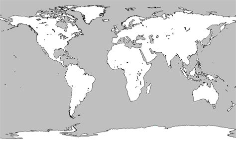 World Map Blank by Pics Photos Blank Map Or World Blank Map