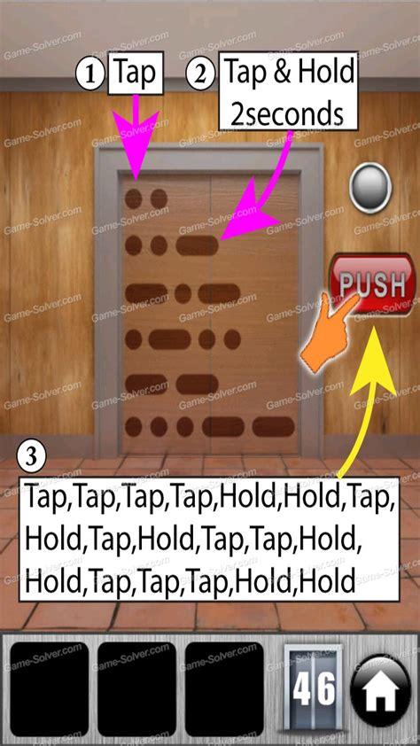 door 45 on 100 doors game 100 doors of revenge level 46 game solver