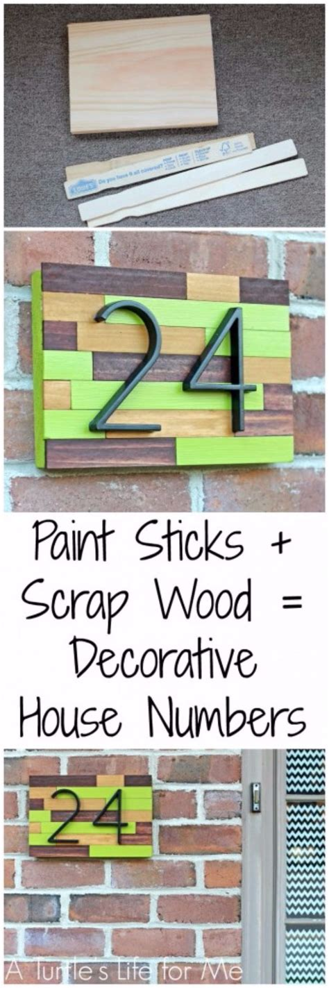 7 Ways To Show Your Creativity by 15 Creative Ways To Display Your House Number With Diy