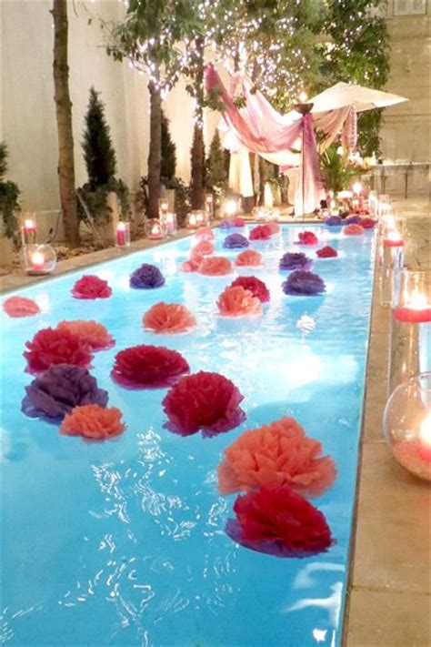 Pool Decorations For by Pool Decorating Ideas Decozilla
