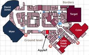 chadstone shopping centre floor plan shopping center floor plan google search consumer