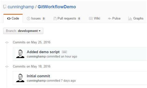 github powershell tutorial a git workflow for powershell scripting