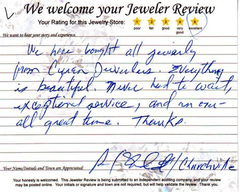 Written Overall an overall great time testimonial