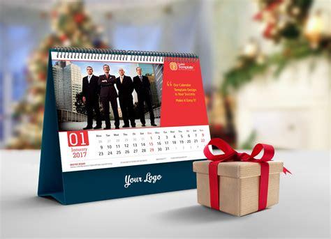 Calendar 2018 Psd File Free Free Desk Calendar Mockup Psd 2018 Mockups