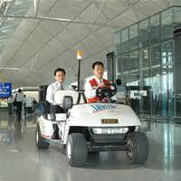 Electric Car Airport Passenger Guide Arrivals Electric Vehicles Hong Kong