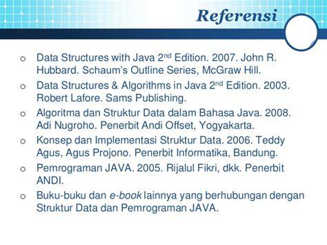 Algoritma Dan Struktur Data Bahasa C Buku Komputer struktur data