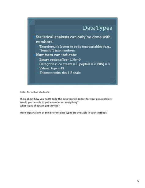 Mba Quantitative Analysis Notes by Mba724 S2 W2 Spss Intro Daya Types