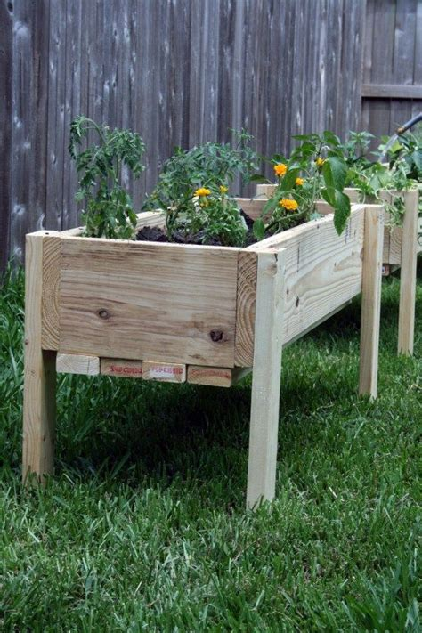 elevated  ground garden beds  plans elevated