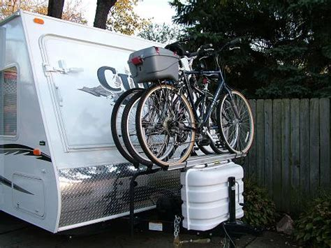Bike Rack For Back Of Travel Trailer by Rv Bike Rack Mounts Modmyrv