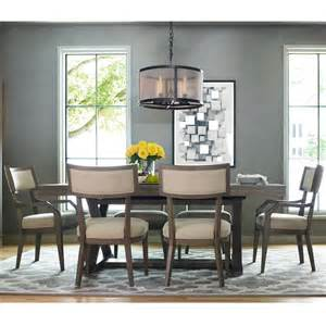 rachael home high line 7 dining set with trestle