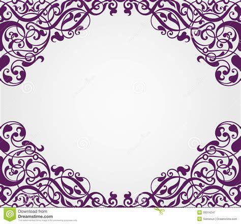 pattern frame corner vector vintage baroque frame corner ornate cartoon vector